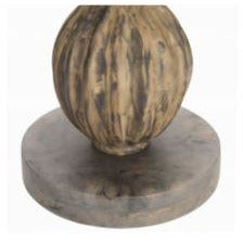 Stacked Gourd End Table - Couture Lamps