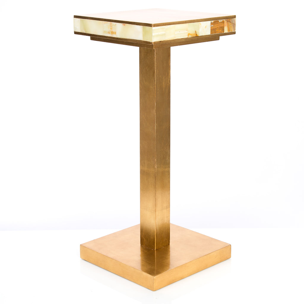 Palisades Onyx Accent Table - Couture Lamps