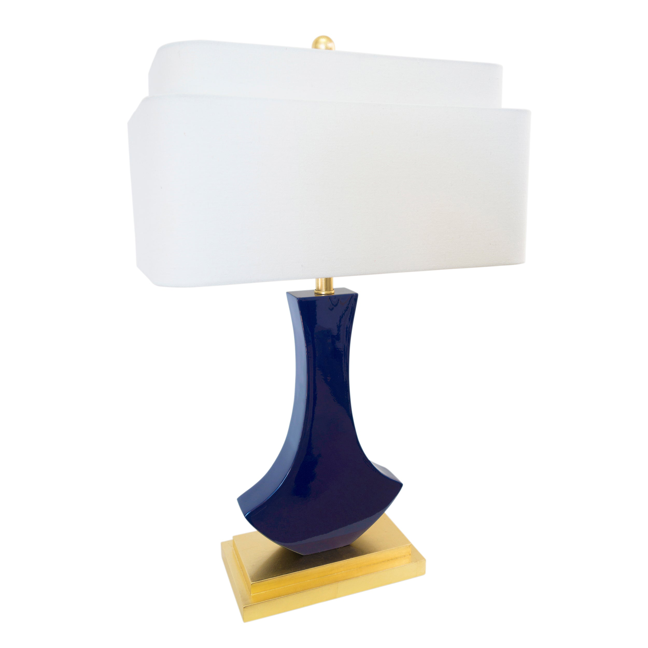 Bellaria Table Lamp Indigo - Couture Lamps