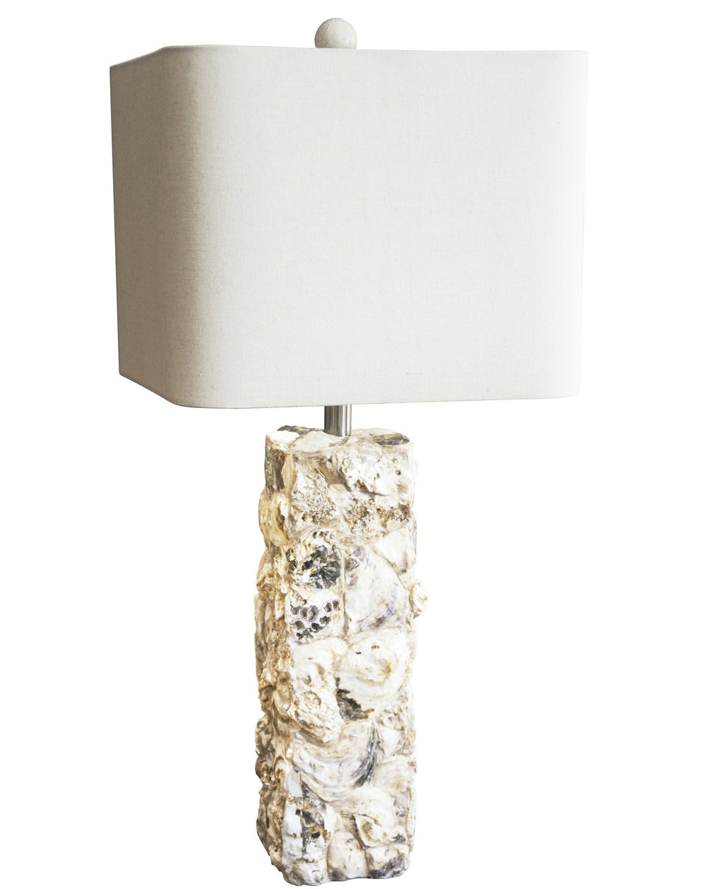 "29.5""H Paradise Shell Table Lamp - Couture Lamps"