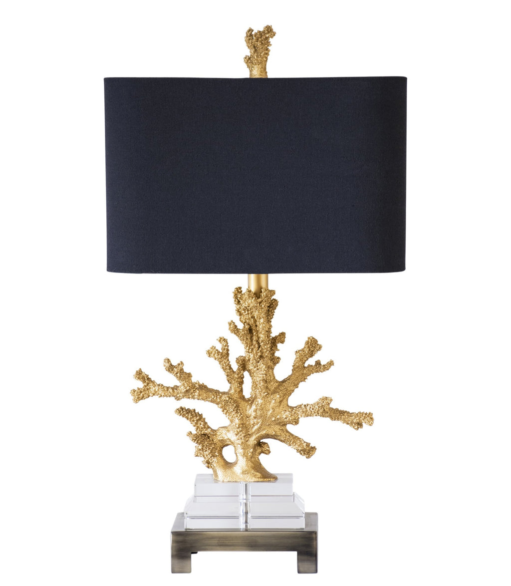 "25.5""H Coral Table Lamp - Couture Lamps"