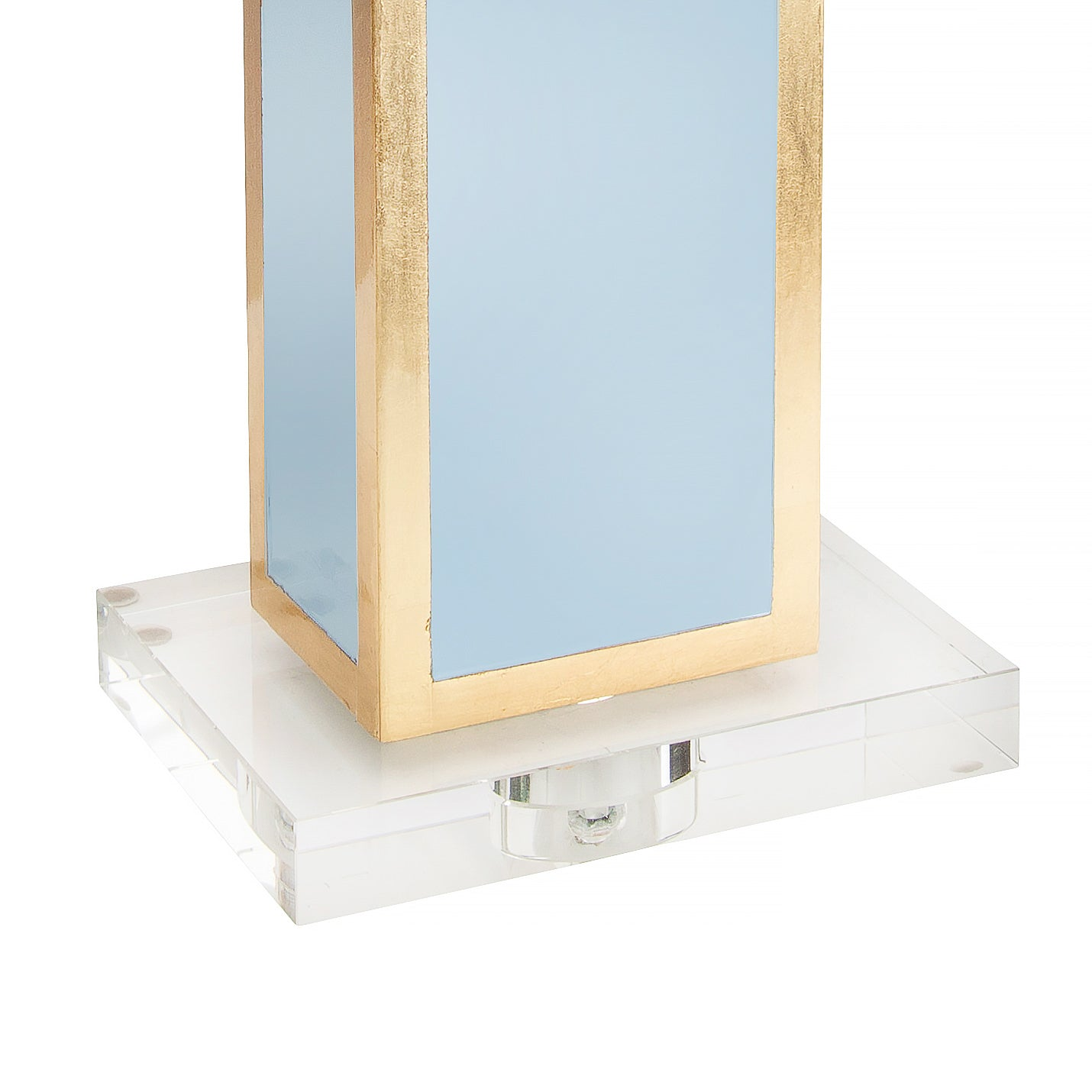 Blair Table Lamp, Robin Egg Blue - Couture Lamps