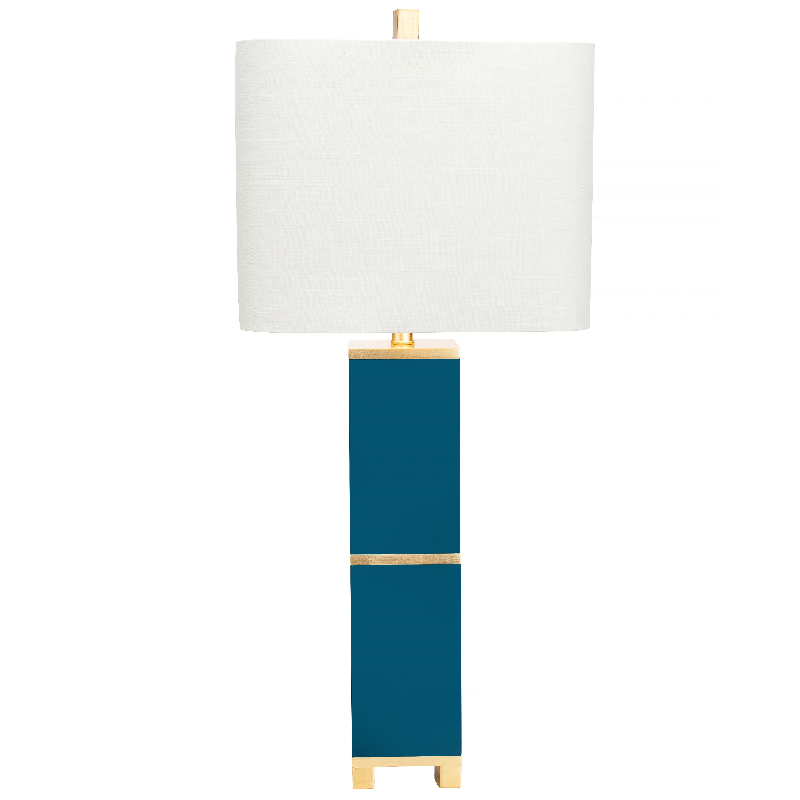 "Peacock 34"" Table Lamp - Couture Lamps"