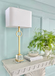 Elaina Gold Table Lamp - Couture Lamps