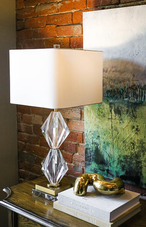 Euclid Table Lamp - Couture Lamps