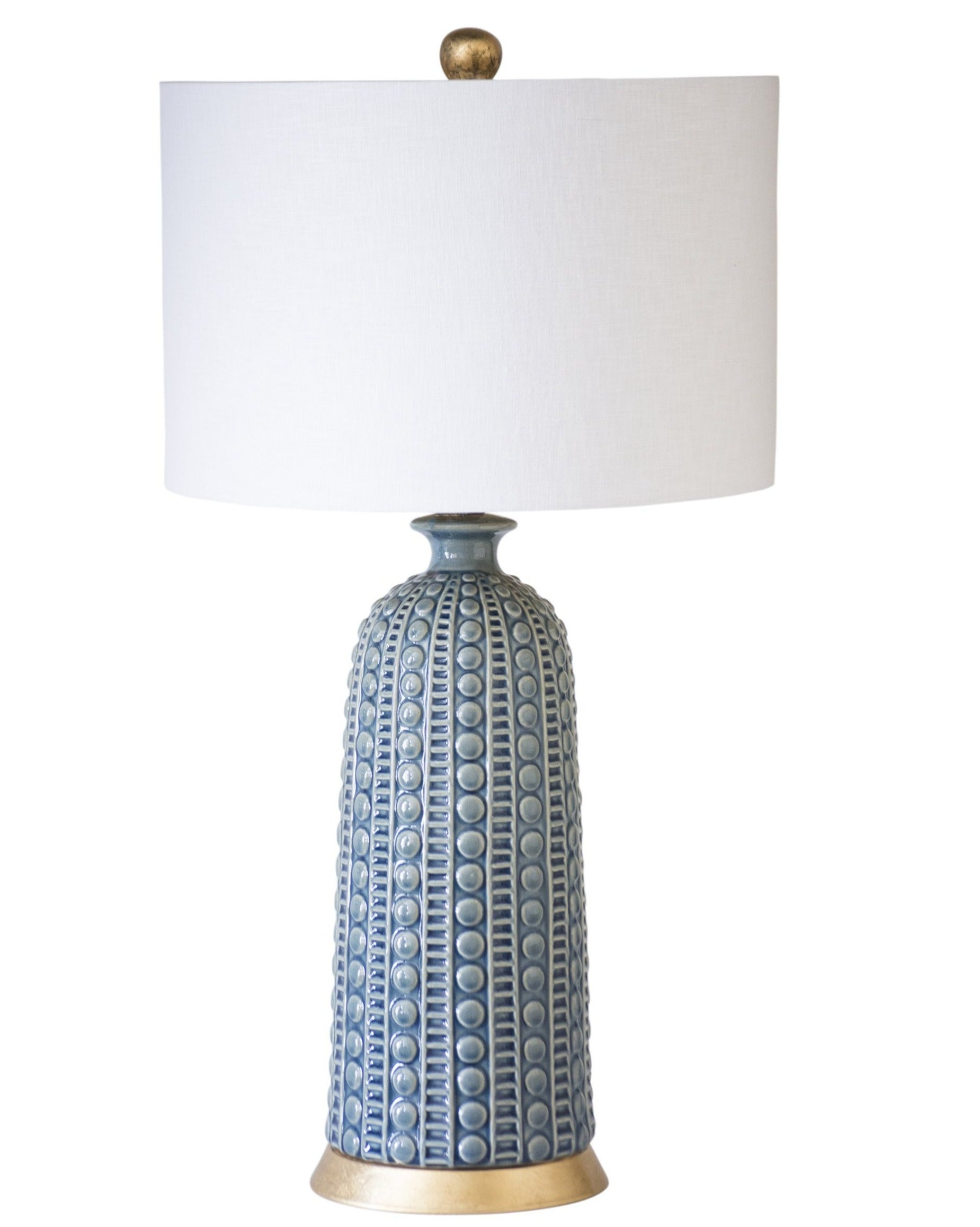 Melrose Table Lamp, Blue - Couture Lamps