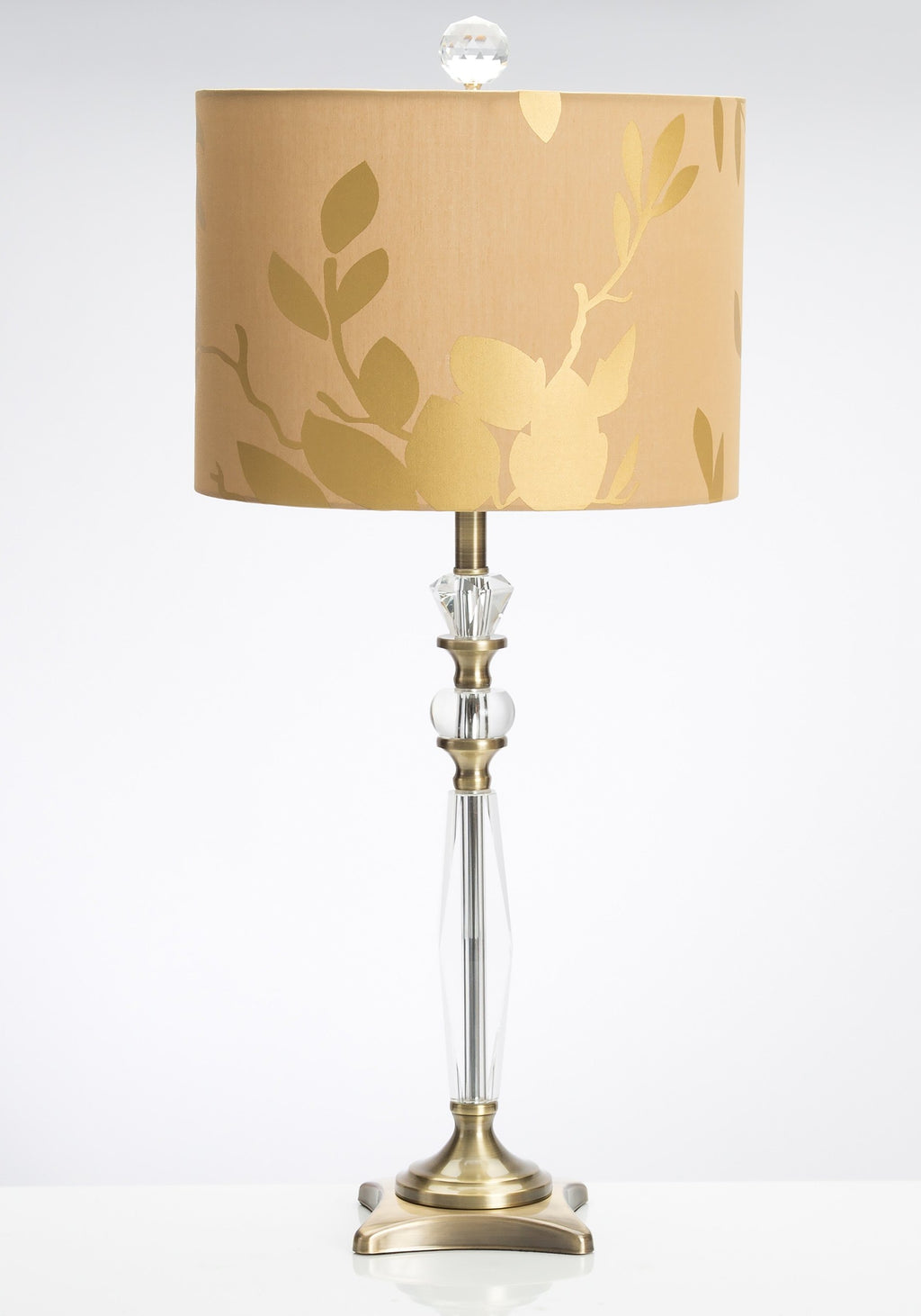 "Global Explorations 28.5"" Table Lamp with Drum Shade - Couture Lamps"
