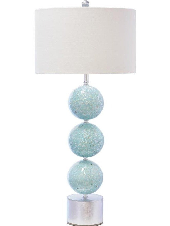 Selena Table Lamp, Light Green - Couture Lamps