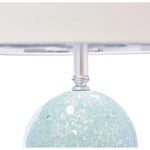 "Selena Table Lamp - Green  36.5""H - Couture Lamps"