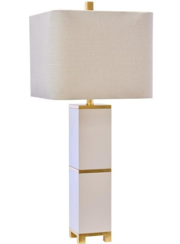 "Jacques Table Lamp 34.5"" - Couture Lamps"