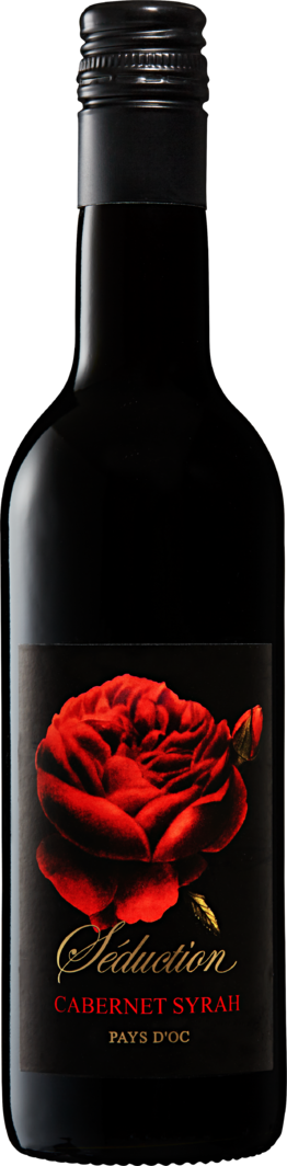 Rotwein Séduction Cabernet Syrah