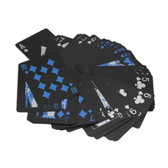 Black Plastic Waterproof Playing Poker Cards - Free Shipping Worldwide