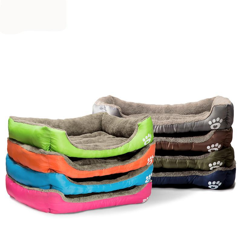 Dog Puppy Cat Bed Pillow Cushion - Multiple Sizes & Colors - Free Shipping Worldwide
