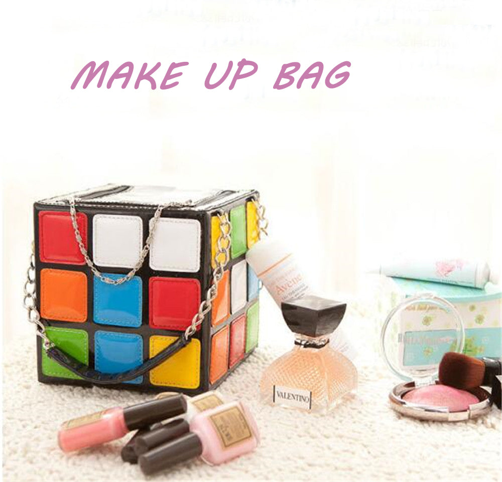 Rubik's Cube Chain Handbag - Free Shipping Worldwide