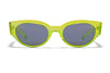 Crystal Neon Yellow / Smoke Mirror Lens