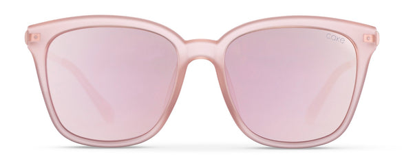 Rose Gold | Soft Pink Mirror Lens