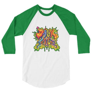 Dank 3/4 sleeve Baseball Tee-Dank Institute