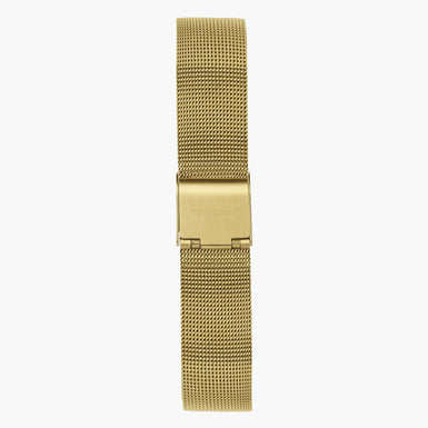 Gold Mesh Watch Strap  - Gold - 40mm