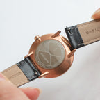 Philosopher - SET Rose Gold | Brown / Black / Mesh Straps