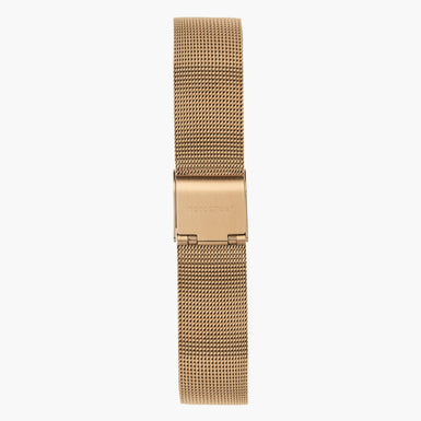 Rose Gold Mesh Watch Strap  - Rose Gold - 40mm