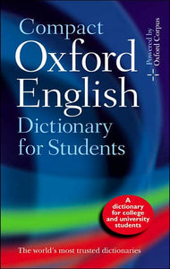 Oxford English : compact : dictionary for students