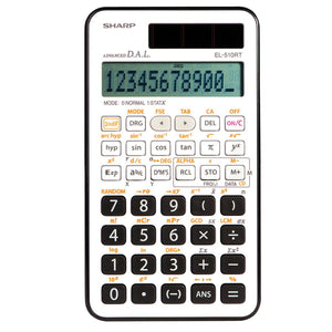 Calculatrice scientifique EL-510 RTB