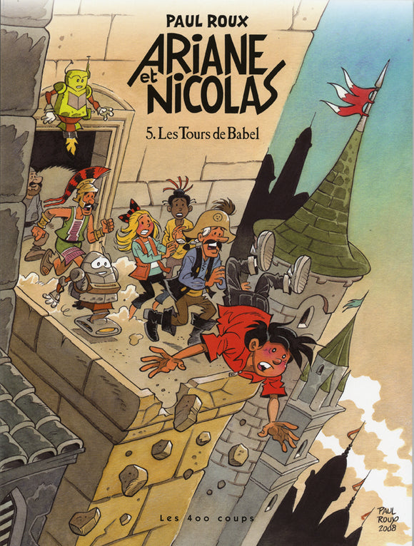 Les Tours de Babel #5 (collection Ariane et Nicolas)