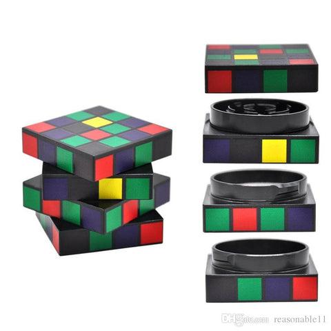 Rubik's Cube Metal Crusher