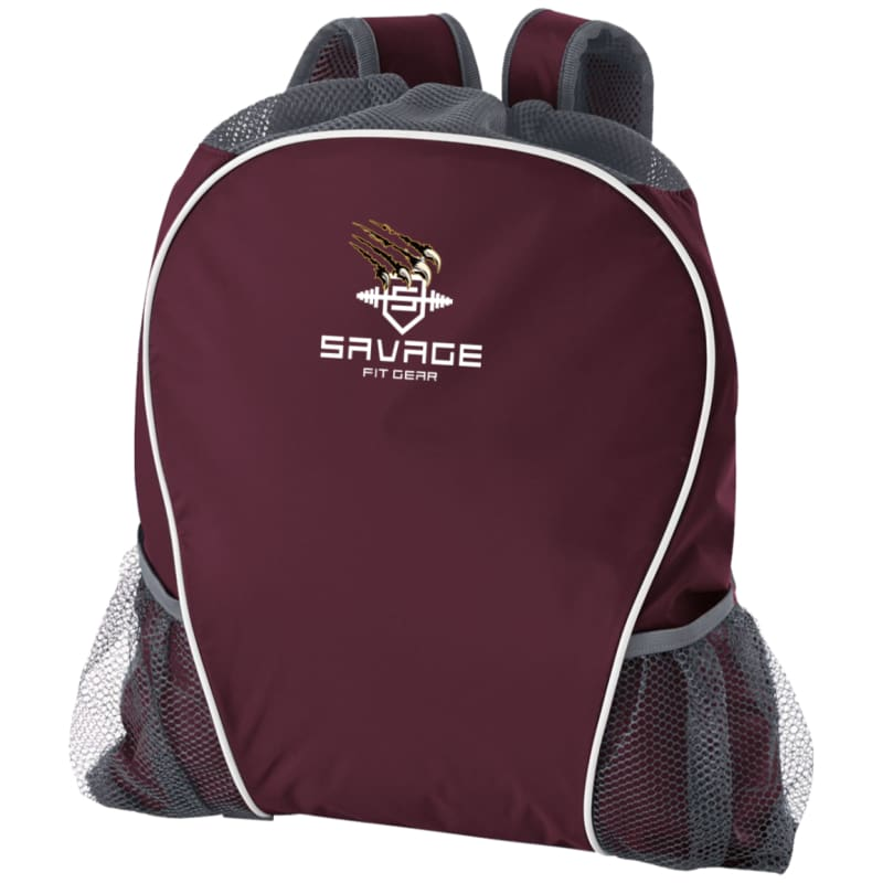 Savage Fitgear Rig Bag - Maroon/graphite / One Size - Bags Savage Fitgear