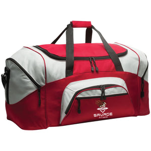 Savage Fitgear Sports Duffel Bag Savage Fitgear Sports Duffel Bag CustomCat
