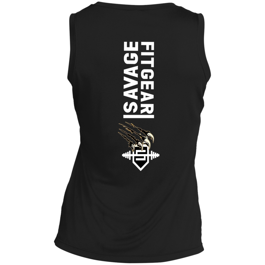 Savage Fitgear Sleeveless V-Neck T-shirt Savage Fitgear Sleeveless V-Neck T-shirt CustomCat