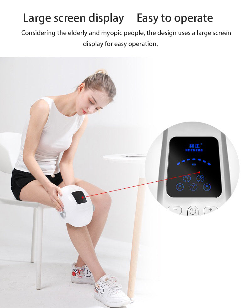 Lifetime Warranty Laser Heated Knee Massager Lifetime Warranty Laser Heated Knee Massager Savage Fitgear