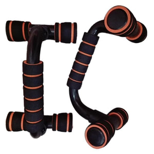 Push Ups Stands/1 Pair - Orange - Savage Fitgear