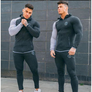Men's Two Tone Designer Sports Tracksuit (Multiple Colors) Men's Two Tone Designer Sports Tracksuit (Multiple Colors) Savage Fitgear