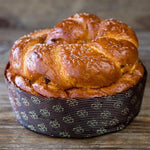 Chocolate Chip Challah - Las Delicias Patisserie