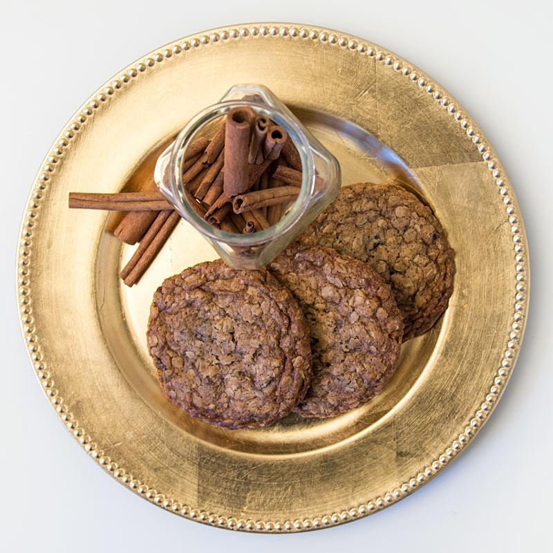 Oatmeal Treasures Cookie - Las Delicias Patisserie