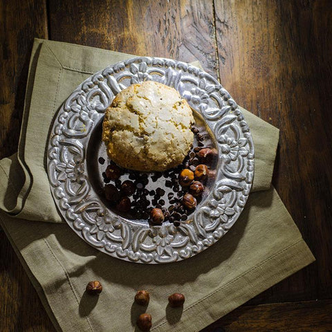 Chocolate Hazelnut Scones - Las Delicias Patisserie