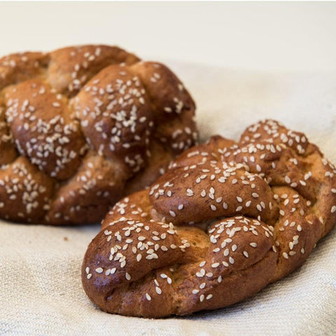 Gluten Free Braided Challah (2pcs) - Las Delicias Patisserie