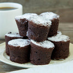 Hot Mini Brownies (10 pcs) - Las Delicias Patisserie