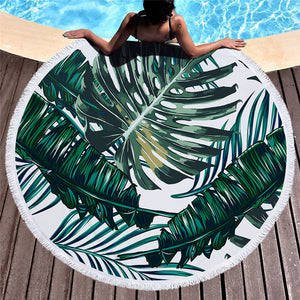 Grande Serviette Ronde Nature serviette plage piscine cocon girly must have été soleil vacance cocooning