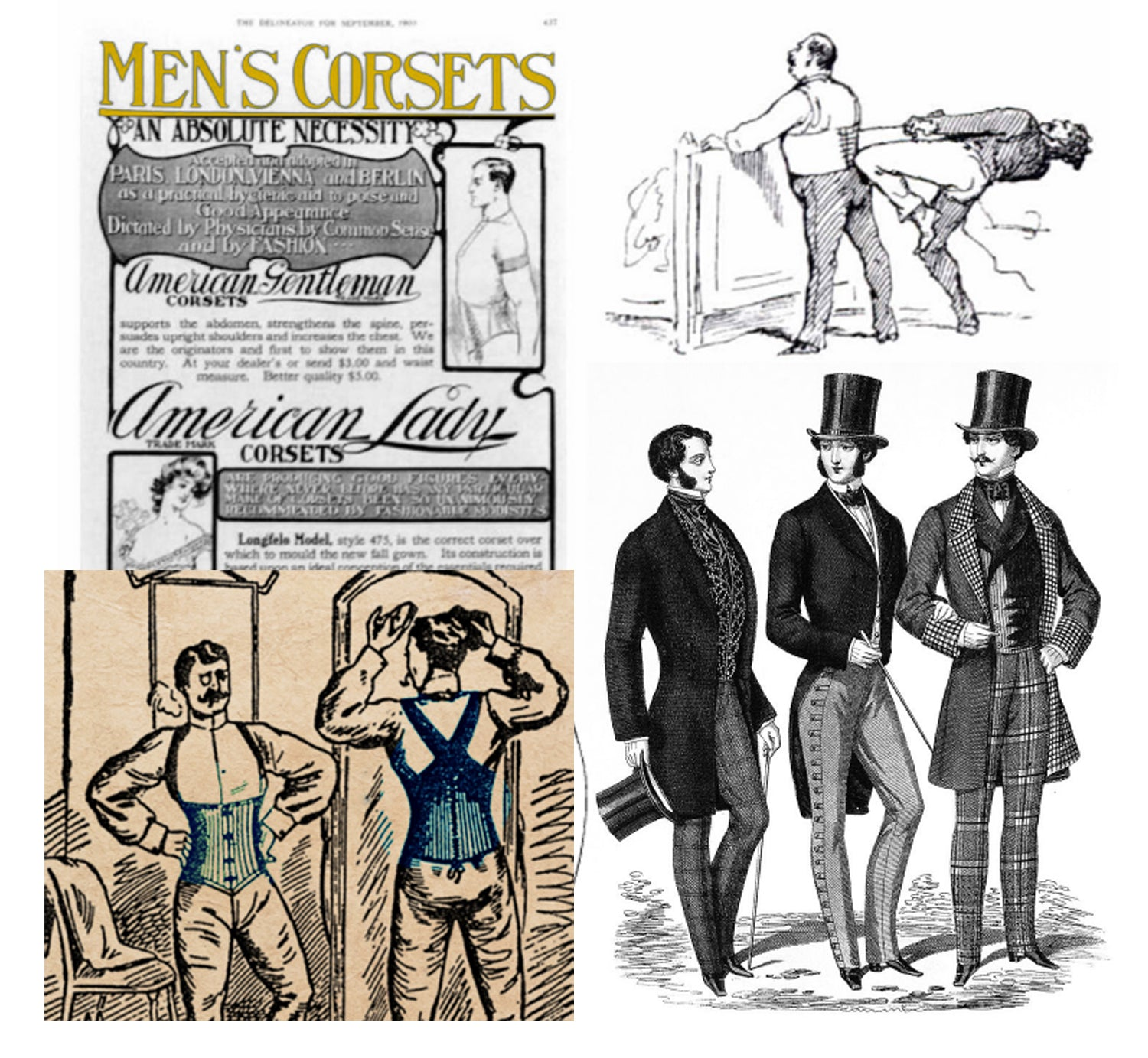 Corsets for Men: The History & Modern Day Solutions