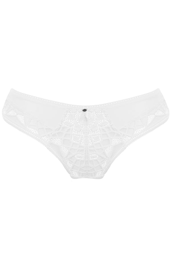 Freya - Soiree Lace White Brief