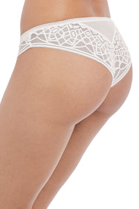 Freya - Soiree Lace White Brazilian