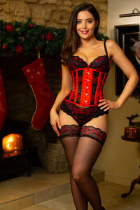 Fair Isle Winter Corset Underbust