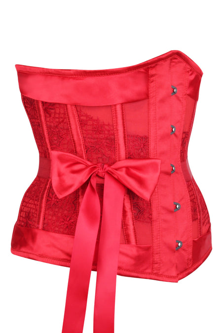 Lingerie Underbust Corset with Bows
