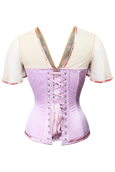 Embroidered Corset and Blouse