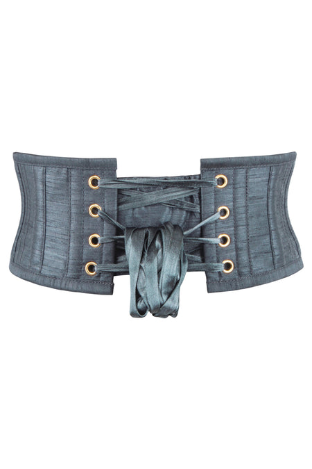 Charcoal Grey Waspie Belt