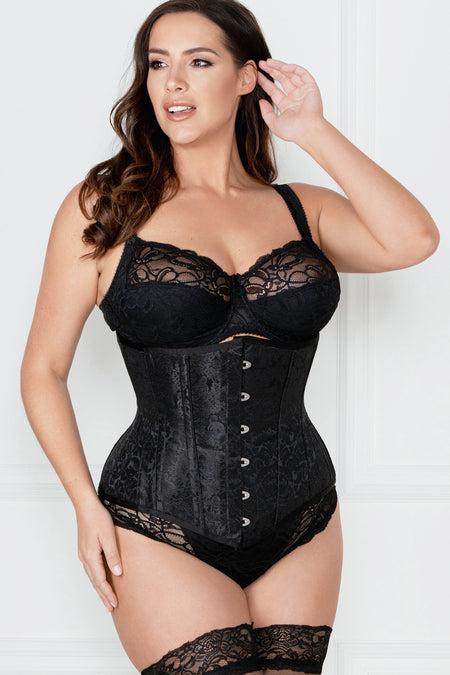 Jacqueline Lace Black Brief