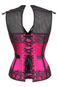Hot Pink Prom Corset