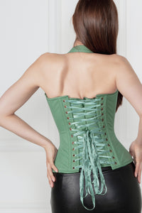 Military Inspired Burlesque Corset